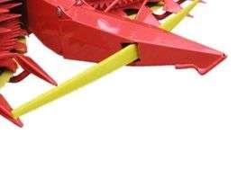 Czujnik zapewniający pomoc w kierowaniu i automatyczne prowadzenie w przystawkach Kemper