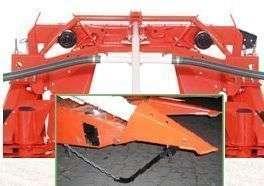 Elektrohydrauliczna rama zapewniająca dopasowanie do podłoża przystawek Kemper