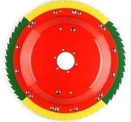 Rotor tnący szybko obrotowy ostrze w kształcie zamkniętej piły element przystawek Kemper