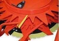 Przykręcane zgarniaki zapewniające optymalne działanie przystawki Kemper 475