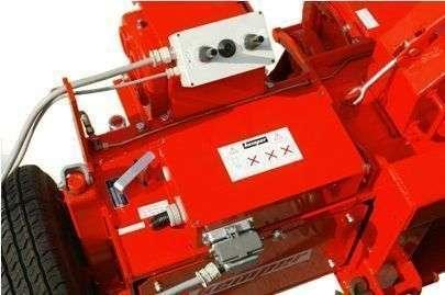 Sieczkarnia marki Kemper C 2200 regulacja na 12 różnych długości cięcia