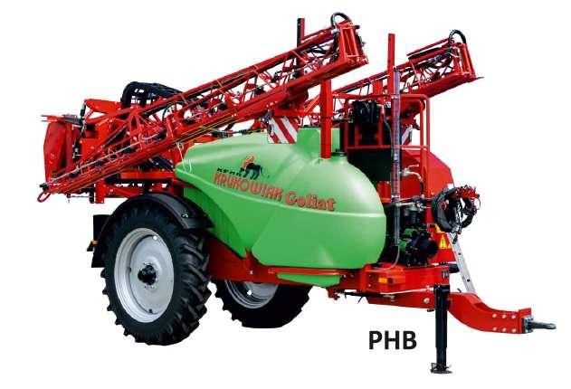 Opryskiwacz Goliat 2500 litrów PHB