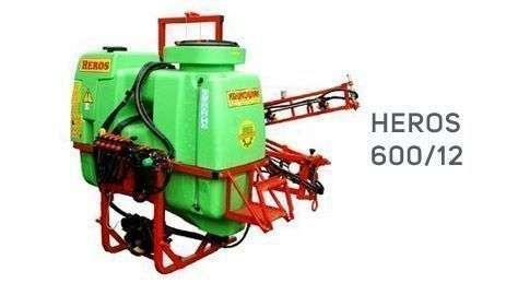 oferta ze strony korbanek.pl opryskiwacz krukowiak Heros 600/12 w kolorze zielono czerwonym