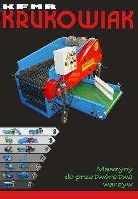 maszyny do przetworstwa warzyw marki krukowiak