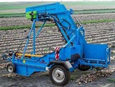 Zbieracz KRUKOWIAK do cebuli Z437 hydraulika przenośnik okazja od firmy korbanek