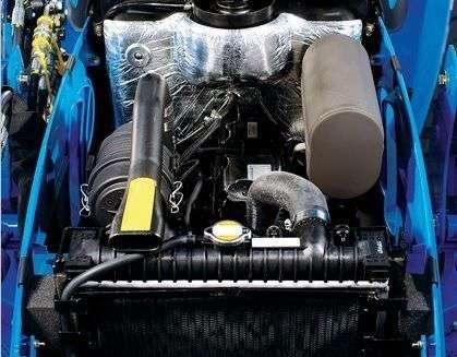 Silnik  Mitsubishi w ciągnikach LS serii J