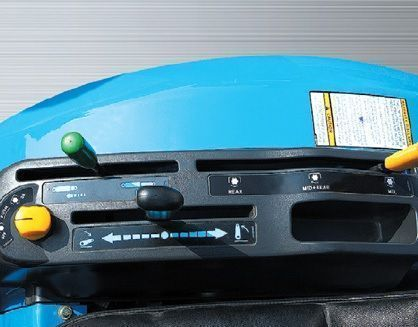 Panel do obsługi hydrauliki i podnośnika