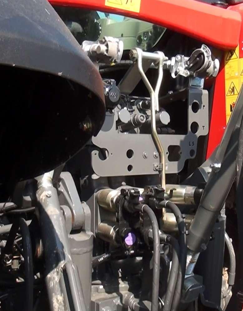 Obciążenie silnika i prędkość obrotowa Massey Ferguson
