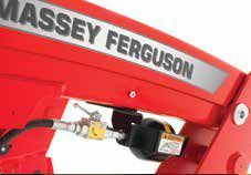 Massey Ferguson nowy system amortyzacji ładowacza czołowego