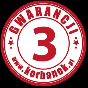 5 lat gwarancji z firmą Korbanek