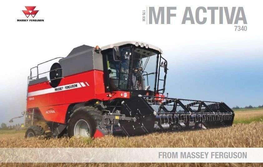 Prospekt Massey Ferguson Activa 7340