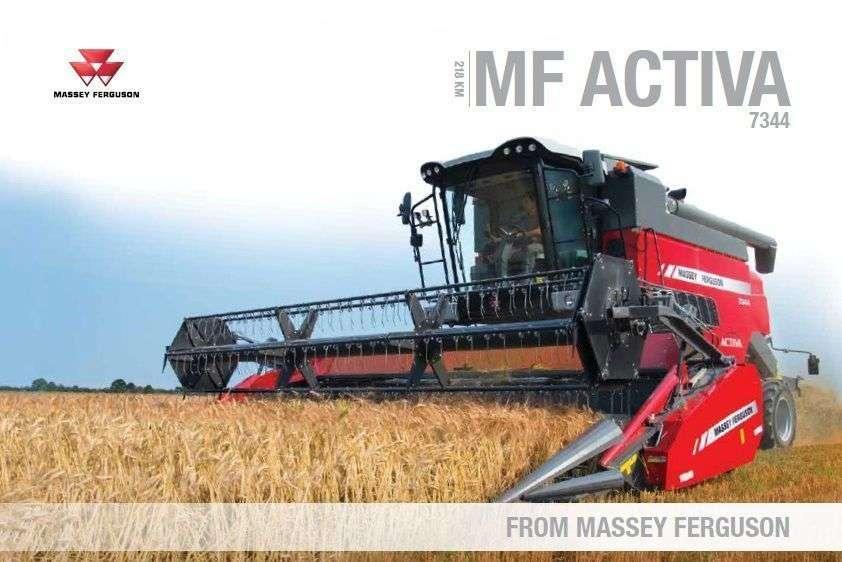 Katalog Massey Ferguson Activa 7344
