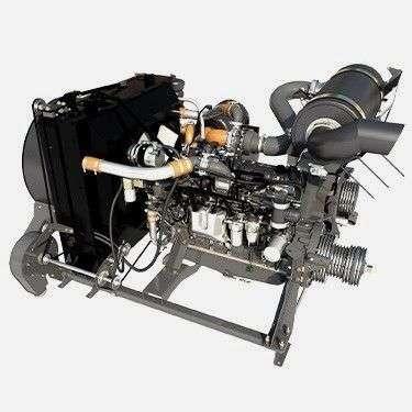 Silnik AGCO Power w kombajnie Massey Ferguson