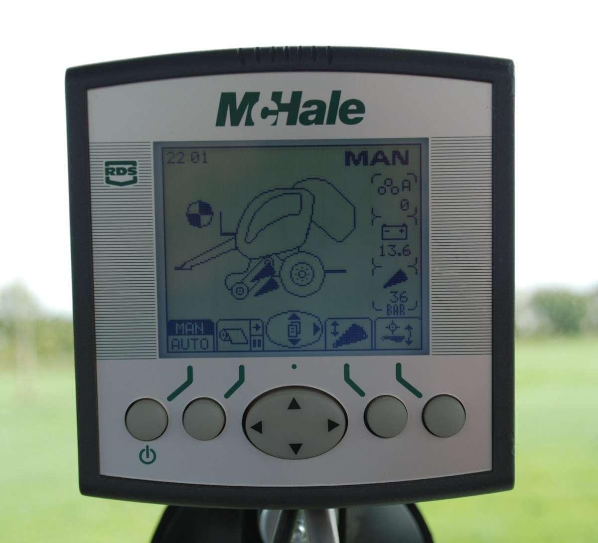 Sterownik prasy stałokomorowej McHale F5500