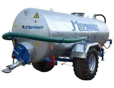 Wóz asenizacyjny Meprozet PN 100  pojedyncza oś