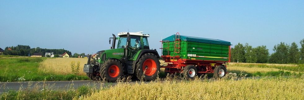 Przyczepa rolnicza Metaltech DB, 12 ton