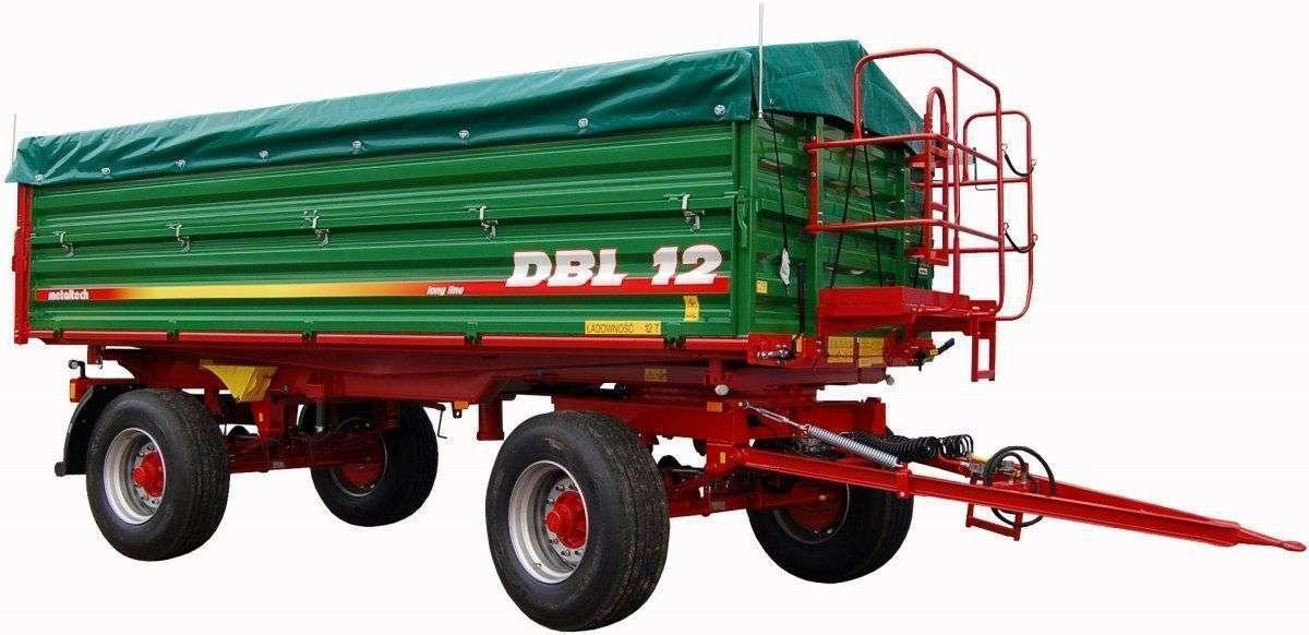 Przyczepa rolnicza Metaltech DBL 12