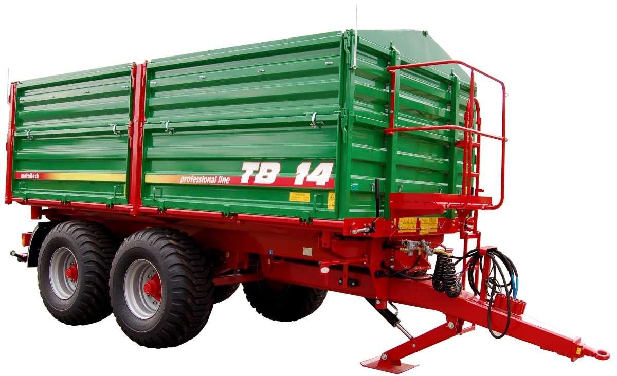 Przyczepa rolnicza Metaltech TB, 14 ton
