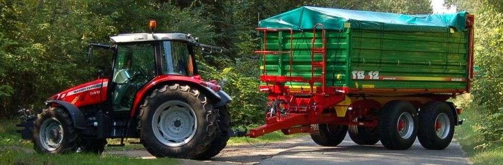 Przyczepa rolnicza Metaltech TB, 12 ton