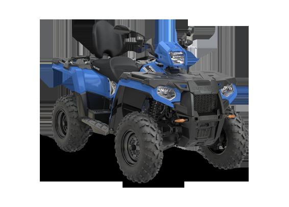 wspomaganie kierownicy kolor niebieski dodatkowe oparcie wersja dla dwóch osób felgi stalowe lusterka boczne