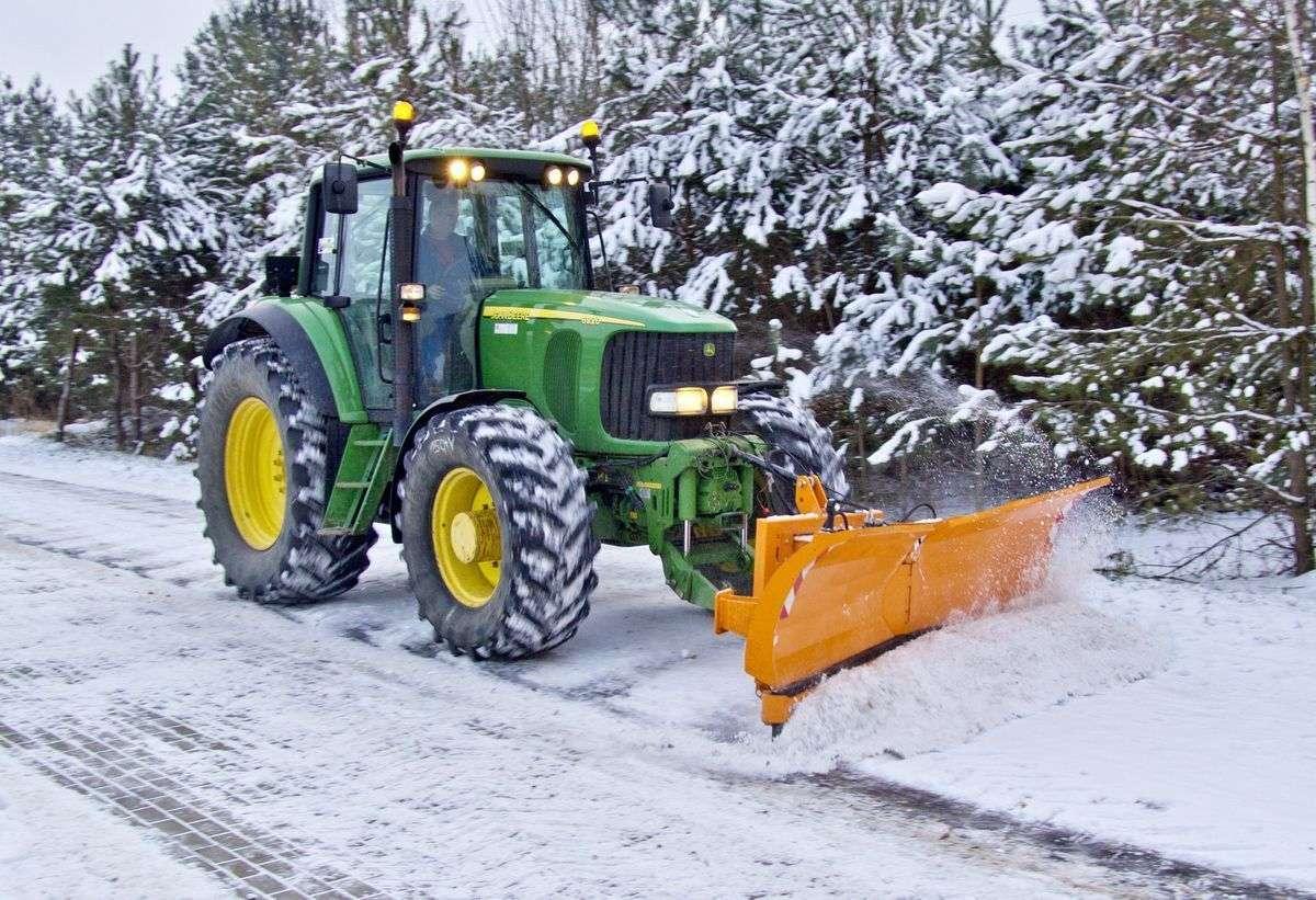 PSV pług do śniegu firmy SAMASZ
