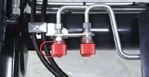 Trzeci obwód hydrauliczny w ładowaczach STOLL