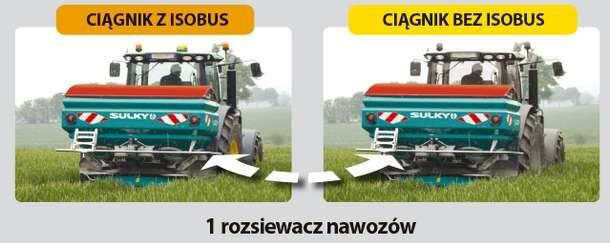 Ciągnik z ISOBUS lub bez ISOBUS - wszystko jest możliwe