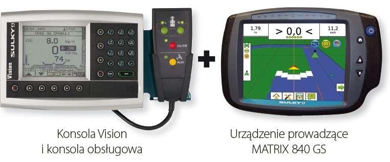 Konsola Vision X oraz nawigacja MATRIX 840 GS