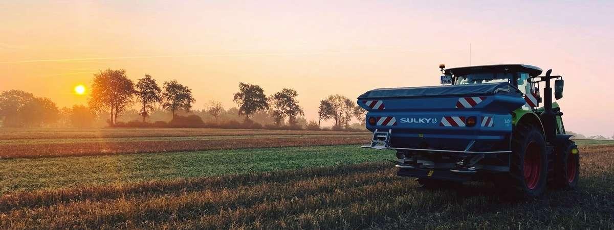 Rozsiewacz nawozów Sulky X40+ Econov ISOBUS
