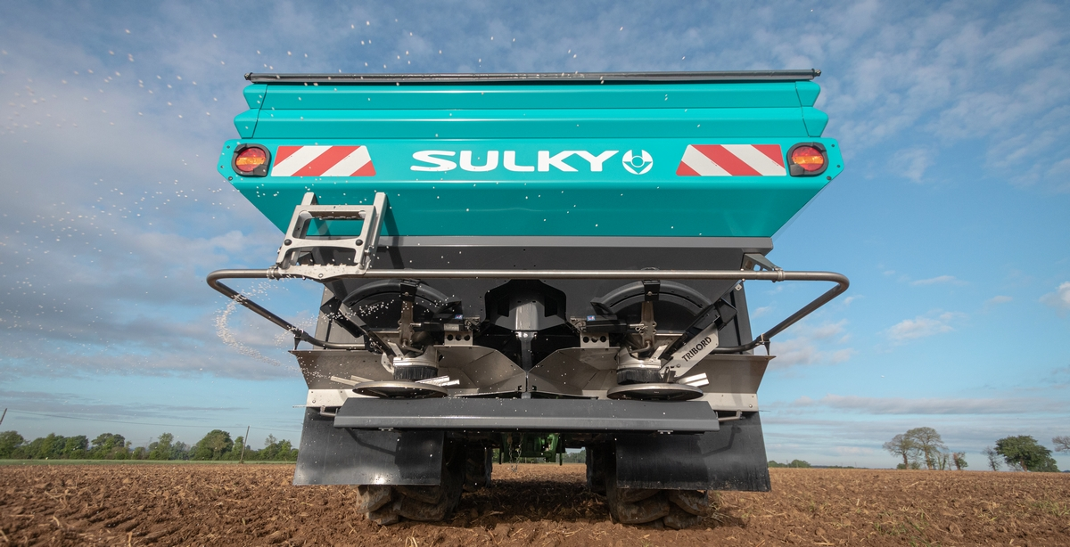 Rozsiewacz nawozów SULKY X50+