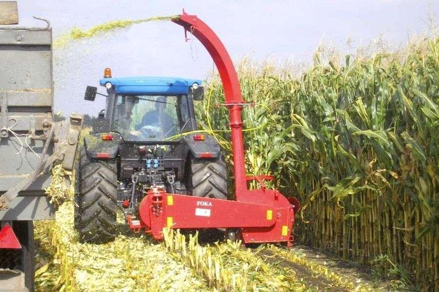 Żniwiarka do kukurydzy 1-rzędowa Unia FOKA