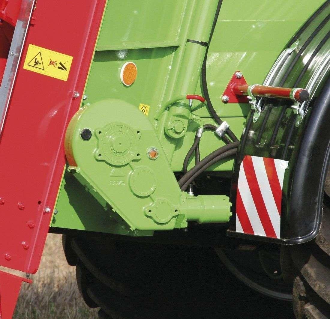 Obrazek przedstawiający napęd przenośnika hydrauliczny w rozrzutniku Apollo, z firmy Unia, który sprzedawany jest przez korbanek.pl.
