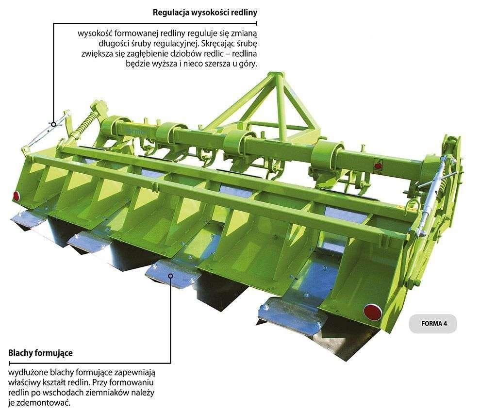 Obrazek prezentujący  konstrukcje obsypnika FORMA Unia, sprzedawanego przez korbanek.pl