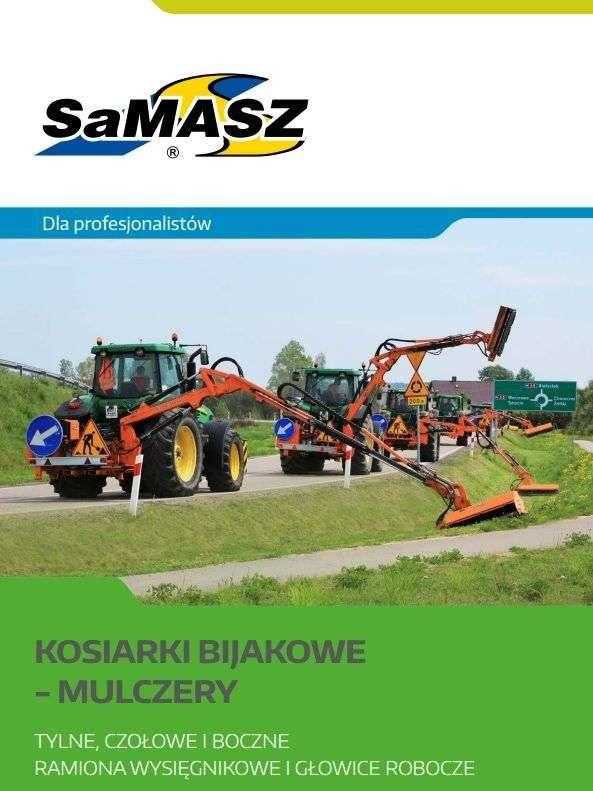 Prospekt, folder kosiarki bijakowa SAMASZ Białystok
