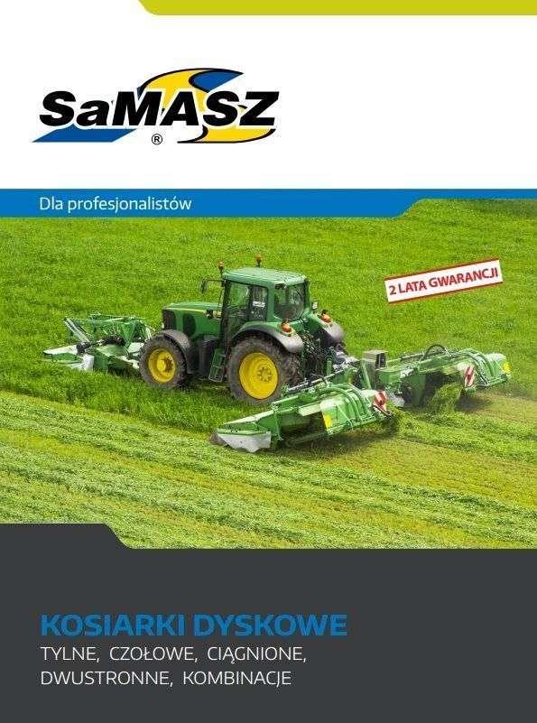 Folder, prospekt kosiarki dyskowe SAMASZ Białystok GigaCUT
