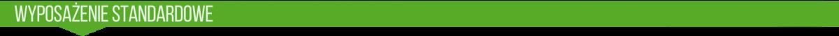 Wyposażenie standartowe przyczep Kurier 6