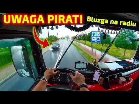 Embedded thumbnail for Olbrzymi amerykański kombajn Fendt PIRAT drogowy atakuje Picia i jego kolegów z konwoju