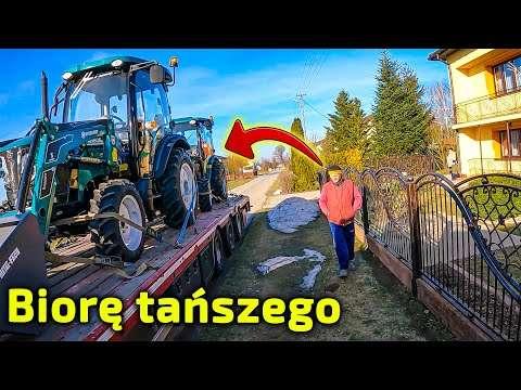 Embedded thumbnail for Wybrał tańszy model ciągnika Arbos  Miał co wybierać z lawety !