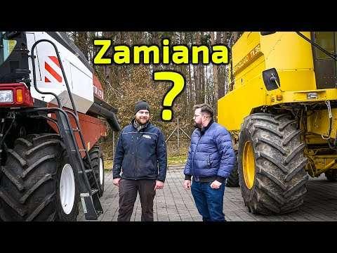 Embedded thumbnail for Zamiana? New Holland na Rostselmash? Czy odwrotnie? Machniom?