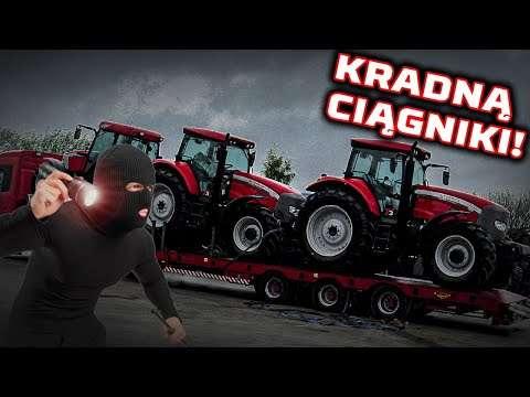 Embedded thumbnail for Złodzieje KRADNĄ drogie traktory Ciągnik na CZĘŚCI !