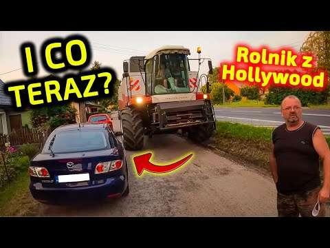 Embedded thumbnail for Jockerfarm przeciska się rosyjskim KOLOSEM na wąskiej drodze Rolnik z Hollywood obserwuje!