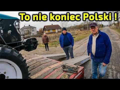 Embedded thumbnail for Wschodnia Polska inwestuje!13 km od granicy z Białorusią Artur przywiózł 3 nowe ciągniki