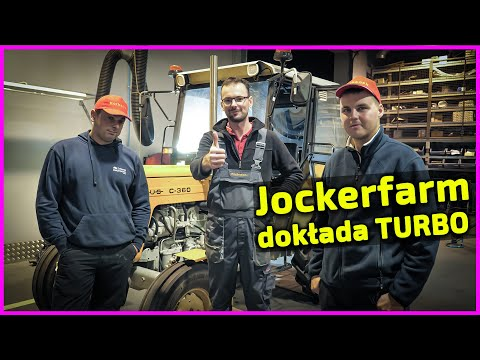 Embedded thumbnail for Jockerfarm i jego Ursus u Korbanka montaż TURBO i hamowanie Silnik wyskoczy?