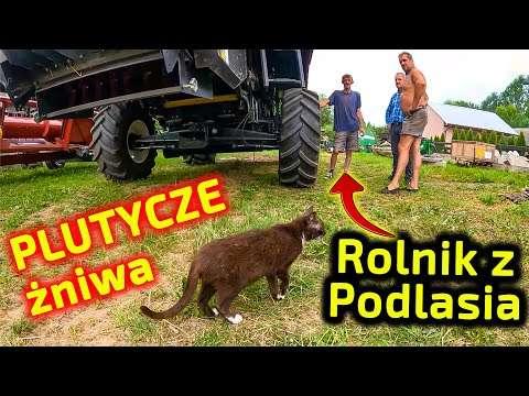 Embedded thumbnail for W Plutyczach żniwa Rolnik z Podlasia wie! jak ustawić kombajn zbożowy