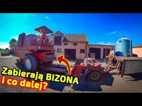 Embedded thumbnail for Zabrali rolnikowi kombajn BIZON i przywieźli kombajn z Rosji NOVA 330