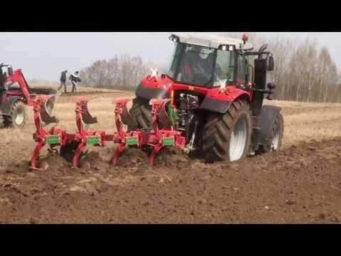 Embedded thumbnail for Pokazy pracy w polu: ciągniki Massey Ferguson i maszyny SULKY, Gregoire-Besson, Unia Group