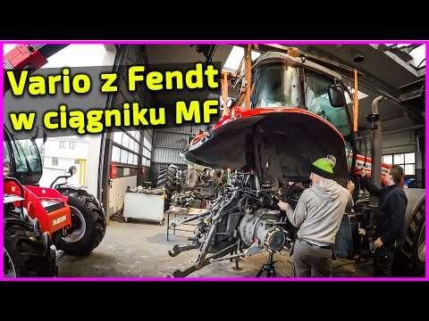 Embedded thumbnail for Koszmar Skrzynia Vario z FENDT w Massey Fergusonie 7495 Dyna VT