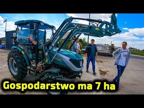 Embedded thumbnail for Nowy nabytek na gospodarstwo 7 ha Radek w Makowie Mazowieckim wydaje Łukaszowi nowy ciągnik