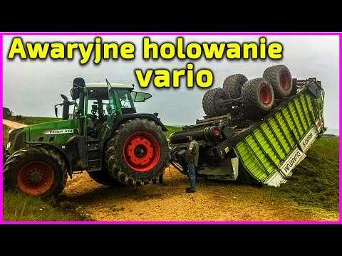 Embedded thumbnail for Awaryjne holowanie ciągnika Fendt skrzynia Vario  A co gdy siadła elektronika - zjedziesz z pola?