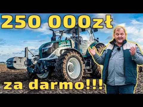 Embedded thumbnail for 250 000 zł za DARMO! DOTACJA na ciągnik Arbos 130 KM lub 50 KM 3szt. lub 1 szt. i zestaw maszyn